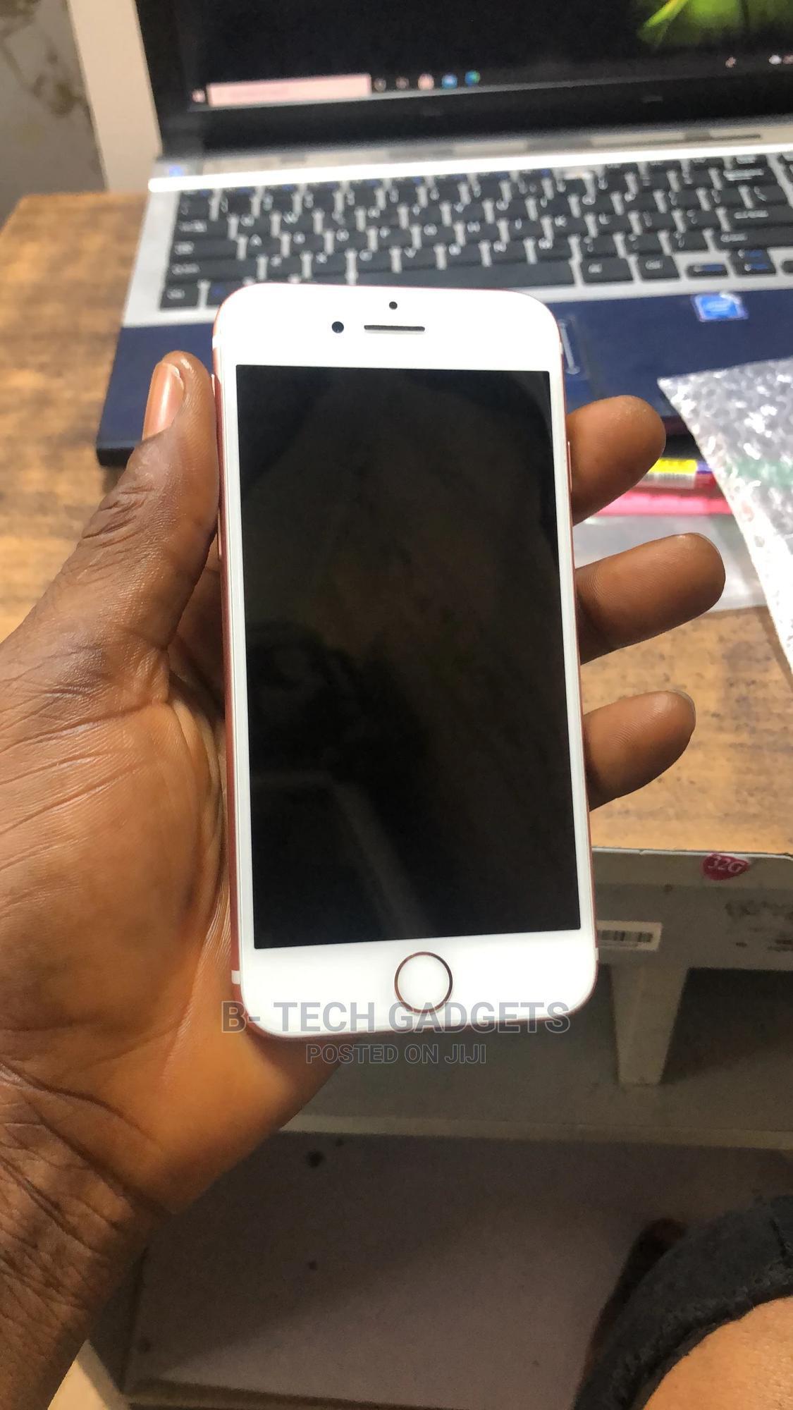 Apple iPhone 7 32 GB Rose Gold   Mobile Phones for sale in Ikeja, Lagos State, Nigeria
