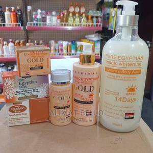 Pure Egyptian Whitening Set | Skin Care for sale in Lagos State, Kosofe