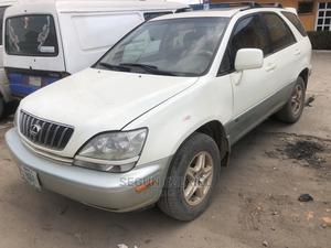 Lexus RX 2000 White | Cars for sale in Lagos State, Yaba