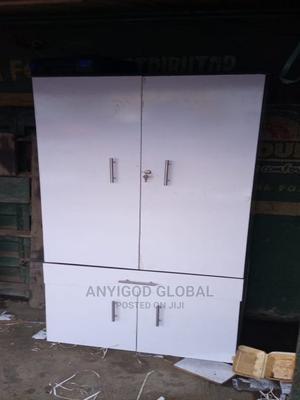Beautiful White Colored 4by6ft Wardrobes   Furniture for sale in Lagos State, Alimosho