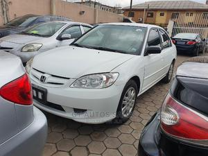 Honda Civic 2004 White | Cars for sale in Lagos State, Ikeja