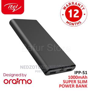 Itel Super Slim 10000mah 2.1A Fast Charging Power Bank   Accessories for Mobile Phones & Tablets for sale in Imo State, Owerri