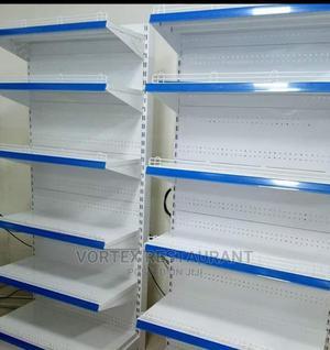 Blue Single Side Supermarket Shelf | Restaurant & Catering Equipment for sale in Rivers State, Port-Harcourt