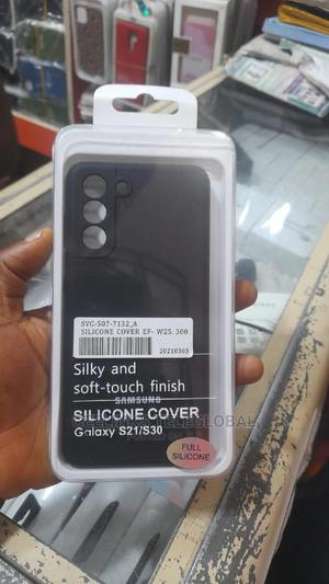 Original Silicone Back Cover for Samsung Galaxy S21 | Accessories for Mobile Phones & Tablets for sale in Lagos State, Ikeja