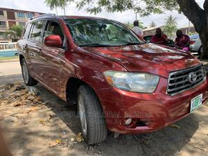Toyota Highlander 2008 Red   Cars for sale in Lagos State, Amuwo-Odofin