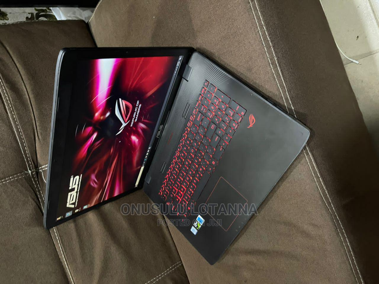 Laptop Asus ROG GL752VW 16GB Intel Core I7 HDD 1T   Laptops & Computers for sale in Ikeja, Lagos State, Nigeria