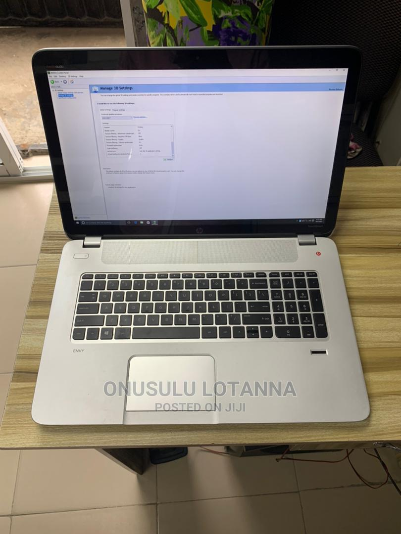 Laptop HP Envy 17 8GB Intel Core I7 HDD 1T   Laptops & Computers for sale in Ikeja, Lagos State, Nigeria
