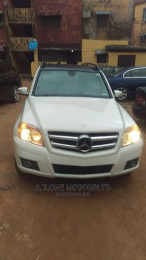 Mercedes-Benz GLK-Class 2010 350 White   Cars for sale in Lagos State, Ejigbo