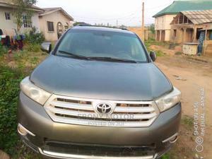 Toyota Highlander 2013 Gray   Cars for sale in Lagos State, Ifako-Ijaiye