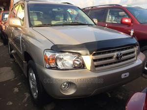 Toyota Highlander 2006 Limited V6 4x4 Gold   Cars for sale in Lagos State, Apapa