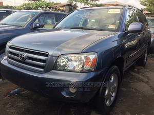 Toyota Highlander 2004 Limited V6 FWD Gray | Cars for sale in Lagos State, Apapa