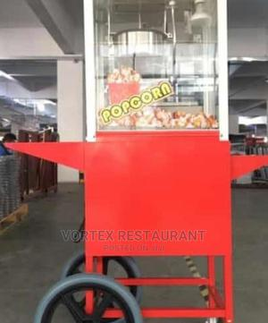 Red Popcorn Machine With Cart | Restaurant & Catering Equipment for sale in Abuja (FCT) State, Wuse 2