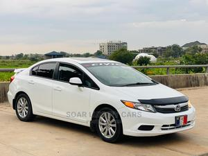 Honda Civic 2012 White | Cars for sale in Abuja (FCT) State, Central Business District