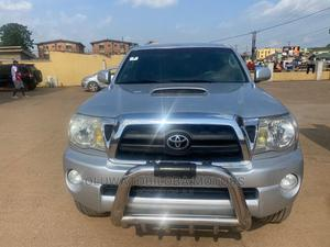 Toyota Tacoma 2010 Double Cab V6 Automatic Silver | Cars for sale in Lagos State, Alimosho