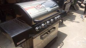 Quality 6 Burners Barbecue Grill Machine | Restaurant & Catering Equipment for sale in Lagos State, Ojo