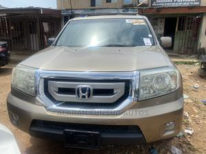 Honda Pilot 2009 EX 4dr SUV (3.5L 6cyl 5A) Gold | Cars for sale in Lagos State, Alimosho