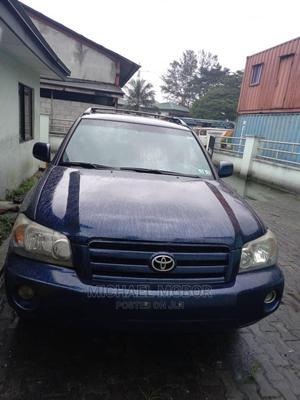 Toyota Highlander 2002 Blue   Cars for sale in Rivers State, Obio-Akpor