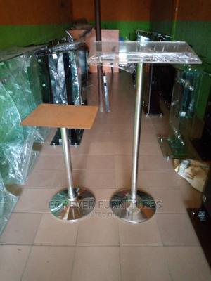 Church Pulpit With Side Stand With Stainless Base | Furniture for sale in Lagos State, Ojo