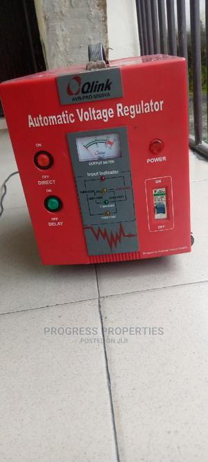 5000 Watt Qlink Stabilizer for Sale | Electrical Equipment for sale in Rivers State, Port-Harcourt