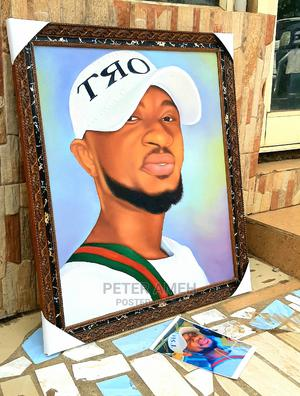 Portrait Painting, Art, Design, Pencil Work, Oil on Canvas, | Building & Trades Services for sale in Lagos State, Alimosho