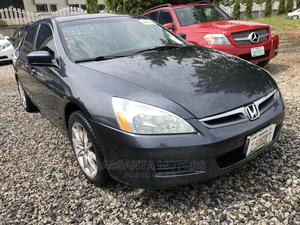 Honda Accord 2006 Sedan LX 3.0 V6 Automatic Gray | Cars for sale in Abuja (FCT) State, Gwarinpa