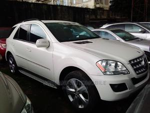 Mercedes-Benz M Class 2009 ML350 AWD 4MATIC White | Cars for sale in Lagos State, Isolo