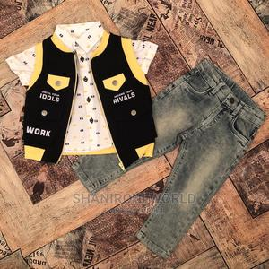 New Kid Turkey Shirt and Jeans Trousers   Children's Clothing for sale in Lagos State, Ikeja
