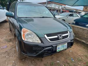 Honda CR-V 2005 Automatic Green   Cars for sale in Lagos State, Ojodu