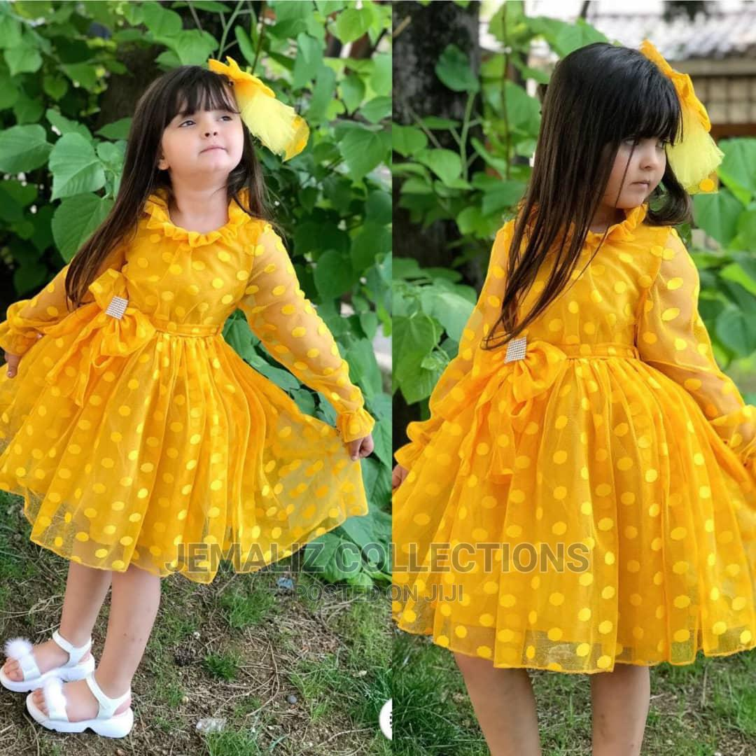 New Quality Turkey Children Ball Gown   Children's Clothing for sale in Ikeja, Lagos State, Nigeria