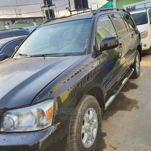 Toyota Highlander 2005 V6 4x4 Black   Cars for sale in Lagos State, Ogba