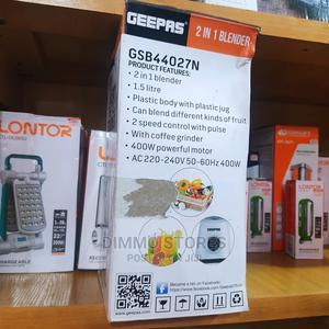 Geepas 2 in 1 Blender | Kitchen Appliances for sale in Ogun State, Abeokuta South