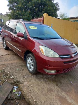 Toyota Sienna 2004 XLE AWD (3.3L V6 5A) Red | Cars for sale in Lagos State, Agege