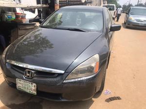Honda Accord 2005 Sedan LX V6 Automatic Gray | Cars for sale in Lagos State, Ikeja