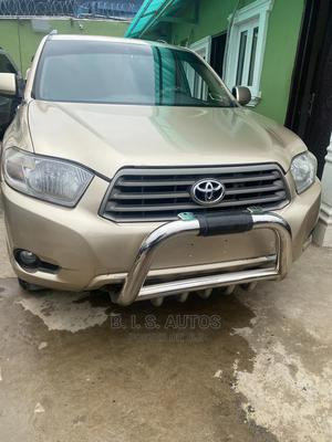 Toyota Highlander 2008 4x4 Gold | Cars for sale in Lagos State, Ogba