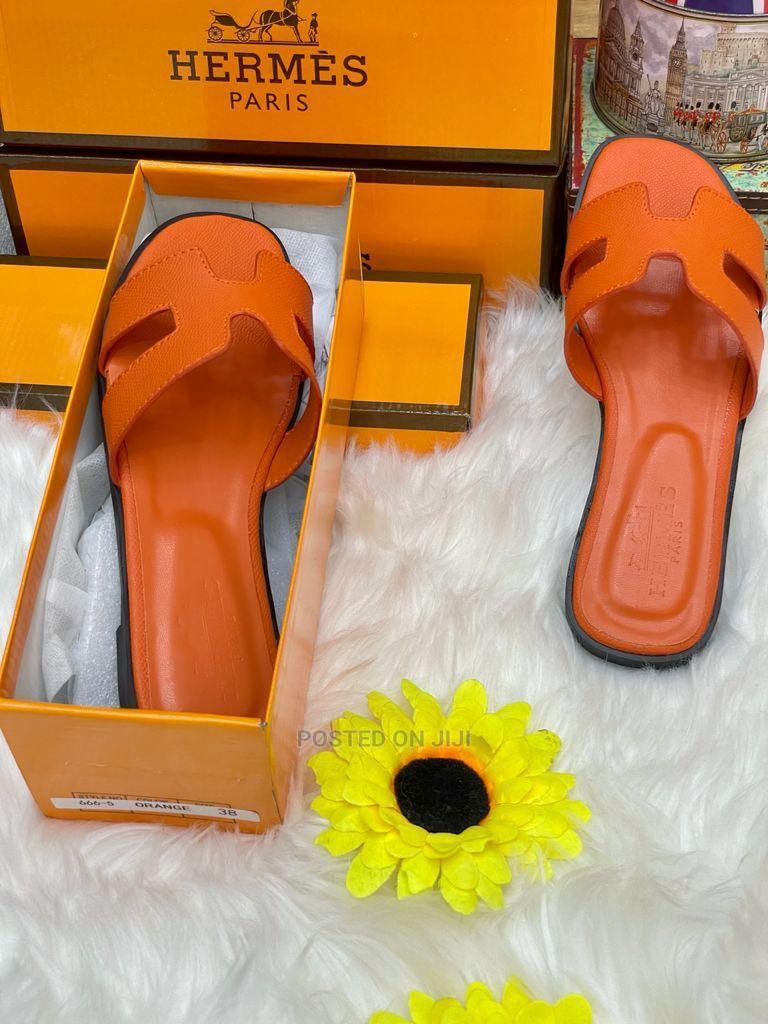 Original Hermes Slippers for Ladies