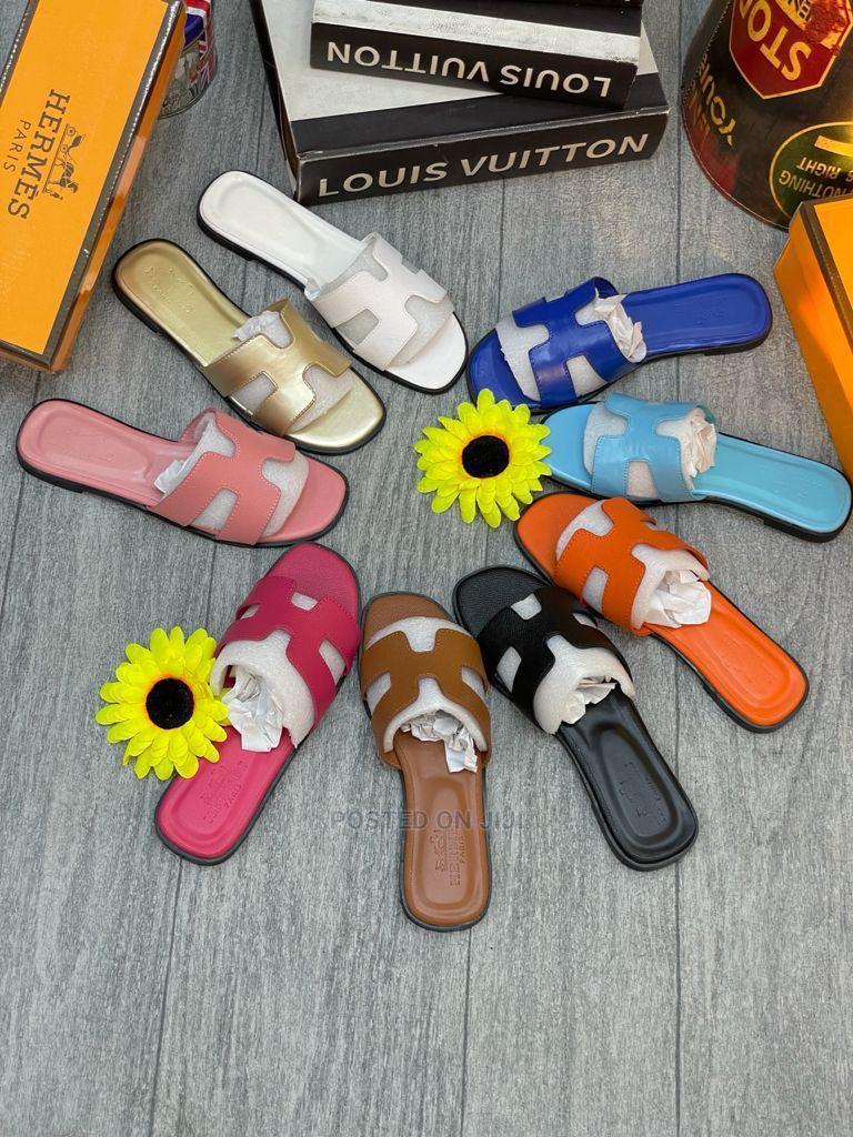 Original Hermes Slippers for Ladies | Shoes for sale in Lekki, Lagos State, Nigeria