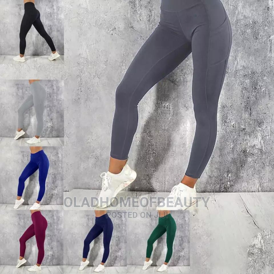 Thick Front Pocket Leggings