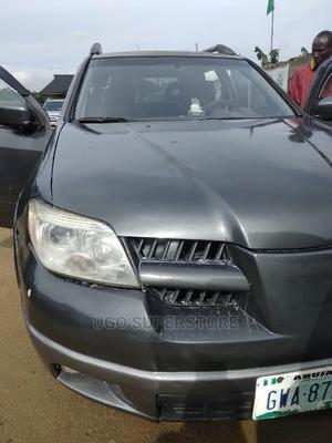 Mitsubishi Outlander 2006 2.4i GLS Automatic Gray | Cars for sale in Rivers State, Port-Harcourt