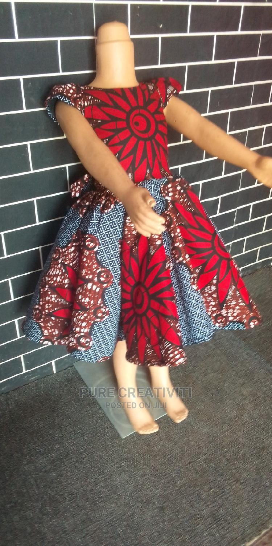 Ankara Dress for Kids