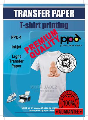 Iron-On White and Light Colored T Shirt Transfer Paper | Stationery for sale in Abuja (FCT) State, Gwarinpa