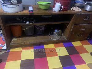 Table With Drawers and Shoerack/Bookshelf | Furniture for sale in Lagos State, Maryland