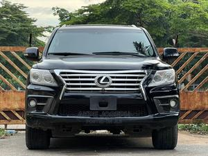Lexus LX 2015 Black   Cars for sale in Abuja (FCT) State, Central Business District