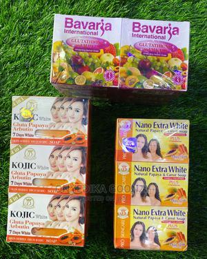 Bavaria Soap, Nano Extra White , Kojic Gluta Papaya Soap | Skin Care for sale in Lagos State, Amuwo-Odofin
