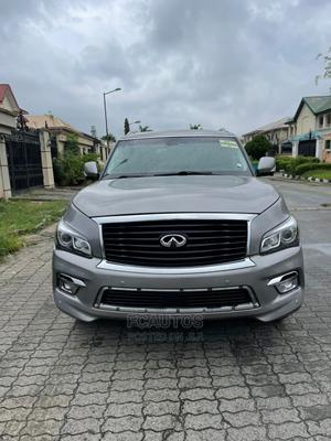 Infiniti QX80 2014 Silver   Cars for sale in Lagos State, Ikeja