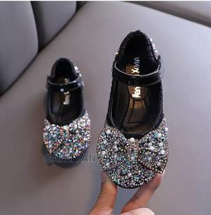 Girl Flat Shoe With Bow   Children's Shoes for sale in Lagos State, Lekki