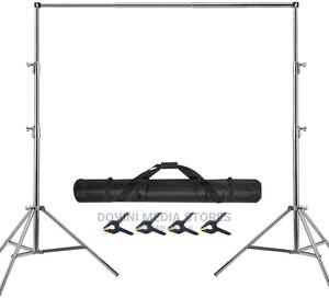 Stainless Steel Backdrop Stand Heavy Duty   Accessories & Supplies for Electronics for sale in Rivers State, Port-Harcourt