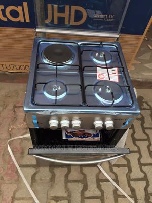 Maxi 50/50 Gas Three Burner and One Hot Plat Gas Cooker | Kitchen Appliances for sale in Lagos State, Lekki