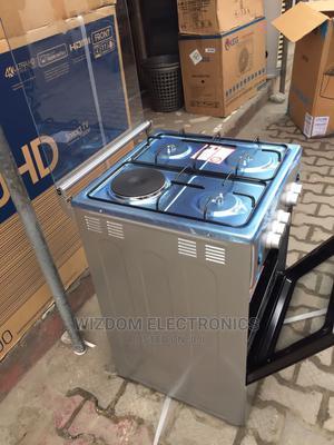 Maxi 3 Burner 1 Hot Plat Gas Cooker | Kitchen Appliances for sale in Lagos State, Lekki