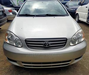 Toyota Corolla 2003 Sedan Automatic Silver | Cars for sale in Lagos State, Agege