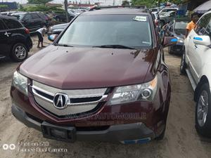 Acura MDX 2007 SUV 4dr AWD (3.7 6cyl 5A) Red | Cars for sale in Lagos State, Apapa
